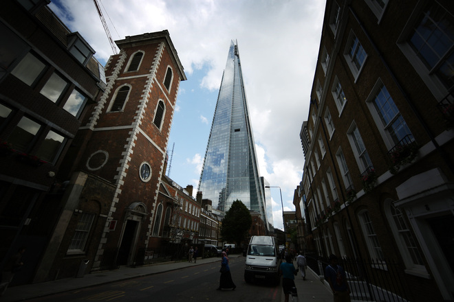 The shard pogled ot ulitsata