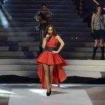 Мария Илиева в червено и черно