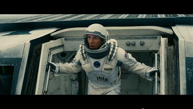 Матю Макконъхи в Interstellar