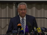 Germany: Bavarian Interior Minister gives press conference following Ansbach attack