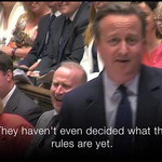 When PMQs became an extended gag reel. David Cameron's final appearance as the Prime Minister: