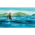 """Блейк Лайвли на плакат за """"Опасни води"""" (2016)"""