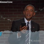 Obama reads more mean tweets on Jimmy Kimmel Live