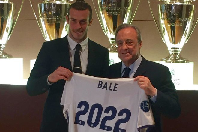 Garet beyl podpisva s real do 2022 g