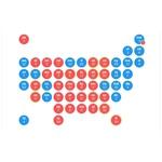 Резултатите от президентските избори в САЩ по щати