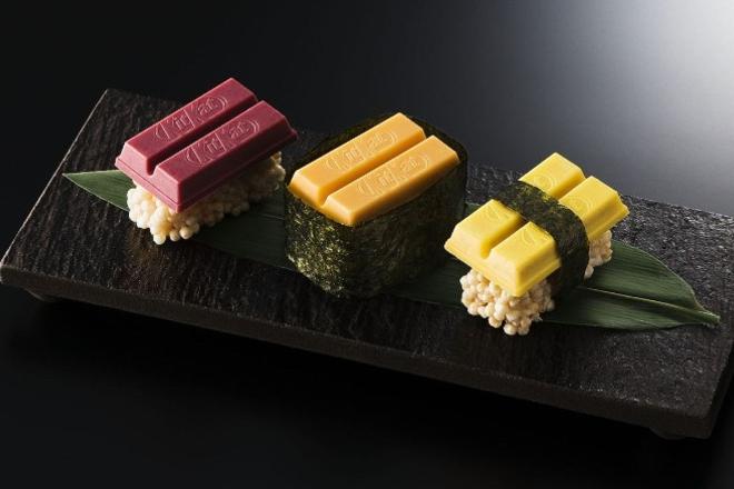 Yaponskoto kitkat sushi